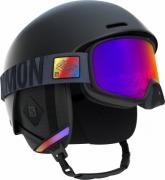 Casca Ski Salomon Helmet Brigade+ Barbati