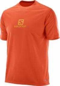 Haine de jogging barbati Salomon Stroll Logo Ss Tee