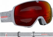 Mergi la Ochelari Ski Salomon Xt One Grey matt/Univ.Mid Red Unisex