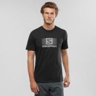 Tricou Activitati Urbane Salomon Blend Logo Ss Tee Barbati