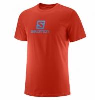 Tricou Casual Salomon Coton Logo Ss Tee Barbati