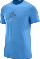 Tricouri sport barbati Salomon Outdoor Graphic Ss Tee