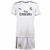 Acasa Kit SS Real Madrid B1L alb And negru Sports pentru copii