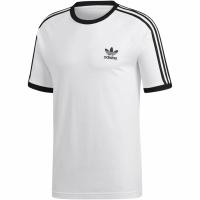 Adidas 3 Stripes Tee alb CW1203