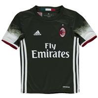 adidas AC Milan Third Jersey 2016 2017 pentru baietei