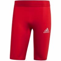 Colanti scurti Adidas Alphaskin Sport , rosu CW9460 barbati teamwear adidas teamwear