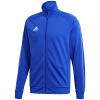 Bluza de trening adidas Core 18 Pes albastru CV3564 barbati teamwear adidas teamwear