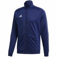 Bluza de trening adidas Core 18 Pes bleumarin CV3563 barbati teamwear adidas teamwear