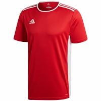 Tricou Adidas Entrada 18 rosu jersey CF1038 copii adidas teamwear