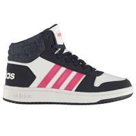 adidas Hoops 2.0 Mid Shoes pentru fetite