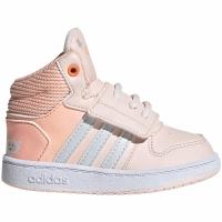 Mergi la Adidas Hoops Mid roz Shoes FW4924 pentru Copii