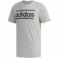 Adidas Linear Logo imprimeu Graphic gri FM6255 pentru Barbati