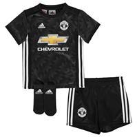 adidas Manchester United Away Kit 2017 2018 pentru Bebelusi