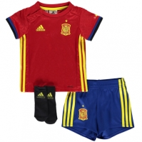 adidas Spain Home Kit 2016 pentru Bebelusi