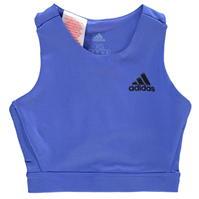 Bustiera sport adidas antrenament pentru fetite