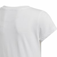 Adidas YG Essentials Linear Tee For alb DV0357 pentru Copii