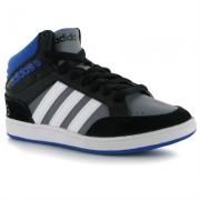 Adidasi adidas Neo Hoops Mid pentru baieti pentru Juniori