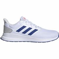 Adidasi alergare barbati Adidas Runfalcon alb albastru EF0148