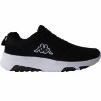 Adidasi alergare barbati Kappa Sash negru alb 242706 1110