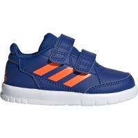 Adidasi copii Adidas AltaSport CF I bleumarin portocaliu G27108