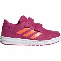 Adidasi copii Adidas Altasport CF K roz portocaliu G27088