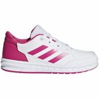 Adidasi copii Adidas AltaSport K alb roz D96870