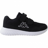 Adidasi copii Kappa Cracker II K negru And alb 260647K 1110