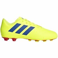 Adidasi fotbal Adidas Nemeziz 184 FxG galben albastru CM8509 copii