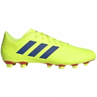 Adidasi fotbal Adidas Nemeziz 184 FxG galben BB9440 barbati