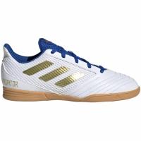 Adidasi fotbal Adidas Predator 194 IN Sala alb And albastru EG2829 pentru copii