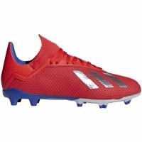 Adidasi fotbal Adidas X 183 FG rosu BB9371 copii