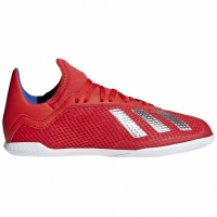 Adidasi fotbal Adidas X 183 IN rosu BB9396 copii