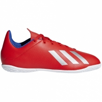 Adidasi fotbal Adidas X 184 IN rosu BB9410 copii