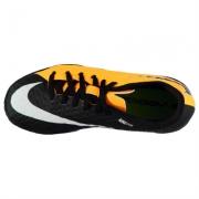 Adidasi fotbal de sala Nike Hypervenom Phelon pentru copii portocaliu negru