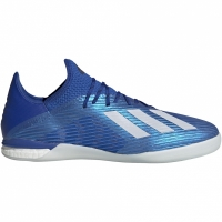Adidasi fotbal de sala Piłkarskie Adidas X 191 IN albastru EG7134