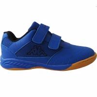 Adidasi fotbal interior Kappa Kickoff OC K albastru-negru 260695K 6011 copii