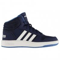 Adidasi inalti adidas Hoops Mid 2.0 pentru baietei