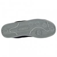 Adidasi inalti Sergio Tacchini catifea pentru Femei negru argintiu