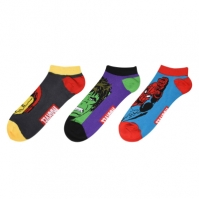 Adidasi Set de 3 Sosete pentru Barbati cu personaje