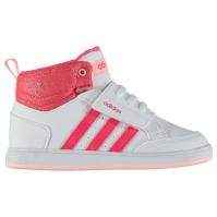 Adidasi sport adidas Hoops Mid pentru fete pentru Bebelusi