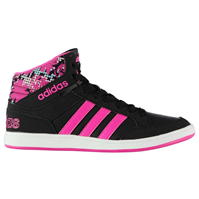 Adidasi sport adidas Hoops Mid Top pentru fetite