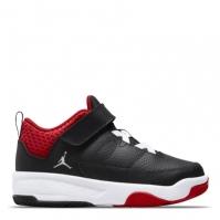 Adidasi sport Air Jordan Max Aura 3 Little pentru Copii negru alb rosu