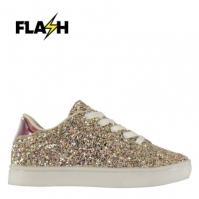 Adidasi sport Fabric Flash Glittery pentru fete