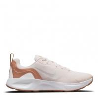 Adidasi sport Nike Wearallday pentru femei roz alb cider
