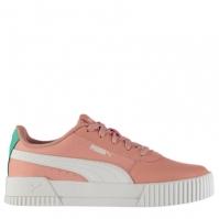 Adidasi sport Puma Carina din piele pentru fetite