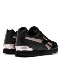 Adidasi sport Reebok Royal Glide Ripple Clip pentru Femei negru roz auriu