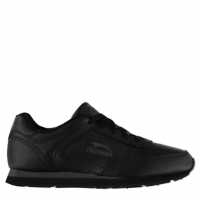 Adidasi sport Slazenger clasic pentru Barbati negru gri carbune