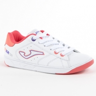 Adidasi sport Wginkana copii Joma 713 alb-roz Laces