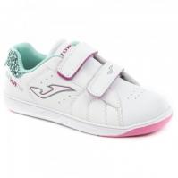 Adidasi sport Wginkana copii Joma 805 alb-turcoaz