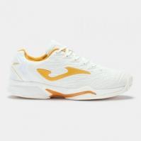 Adidasi tenis Tace Pro Joma 2002 alb-gold toate suprafetele pentru Femei